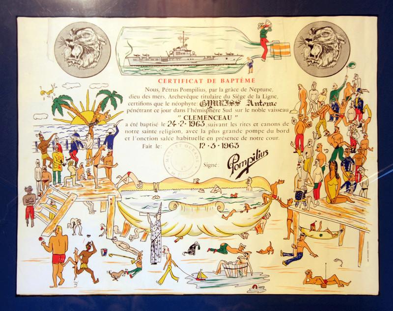 [ Les traditions dans la Marine ] Les diplômes de la Ligne - Page 5 210-ce10