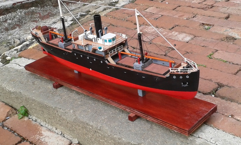 nave - NAVE  CARBONIERA  ANDRE THOME 00610