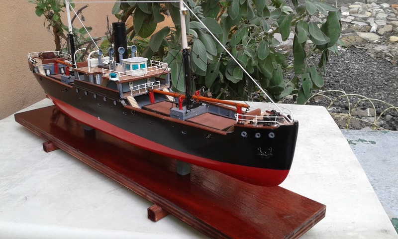 nave - NAVE  CARBONIERA  ANDRE THOME 01110