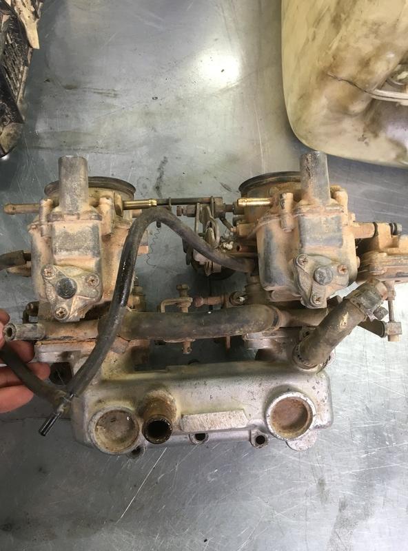 carburateur Weber 35 IBSH Img_5010