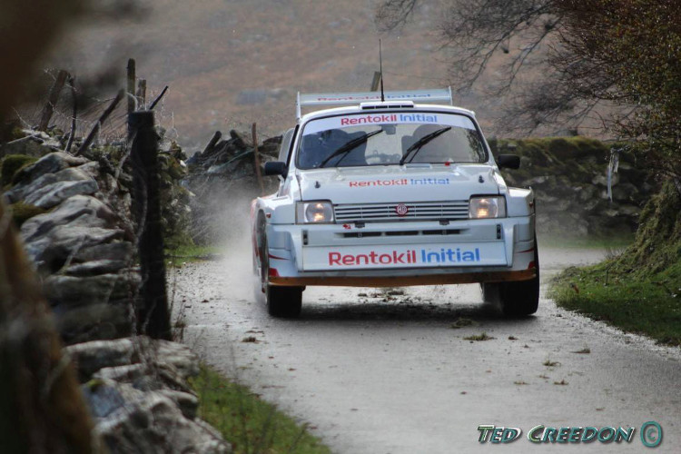 Craig Breen 2018 Killarney Historic Rally MG Metro 6R4 Creedo10