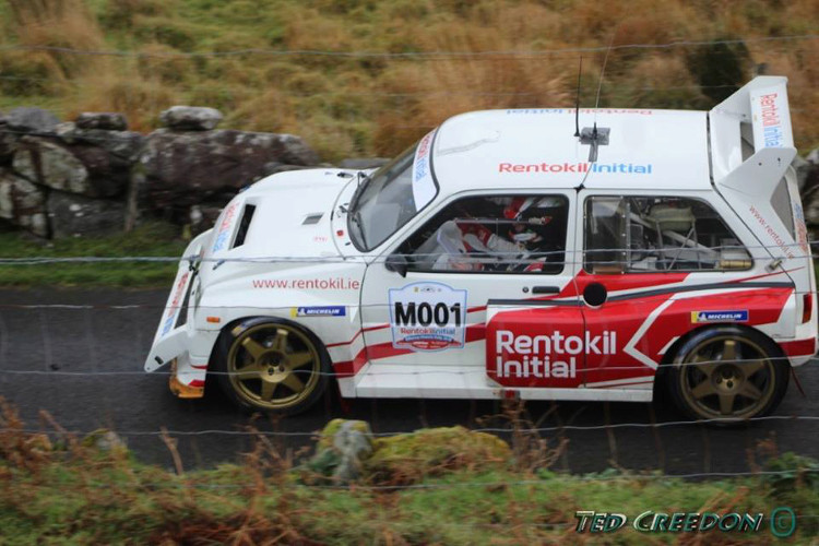 Craig Breen 2018 Killarney Historic Rally MG Metro 6R4 Creedo11