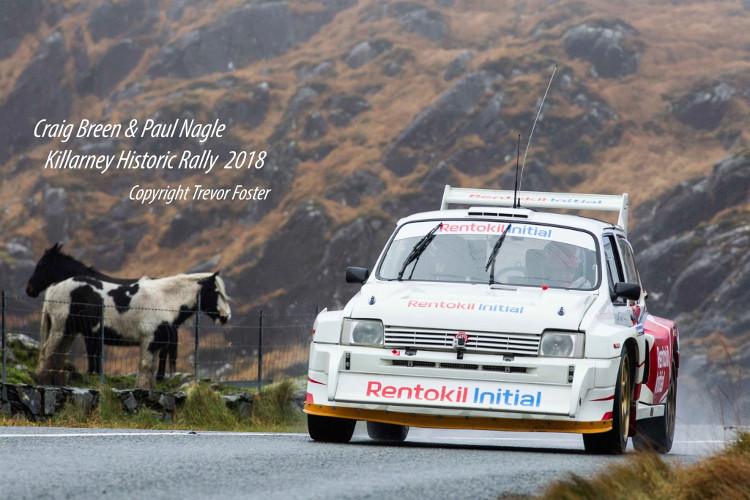 Craig Breen 2018 Killarney Historic Rally MG Metro 6R4 Foster10