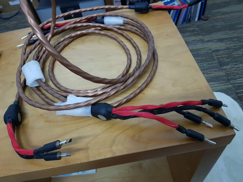 wireworld mini eclipse 7 sperker cable (used) sold 20180410