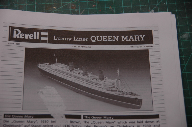 Queen Mary I (1/570) REVELL Dsc_7510