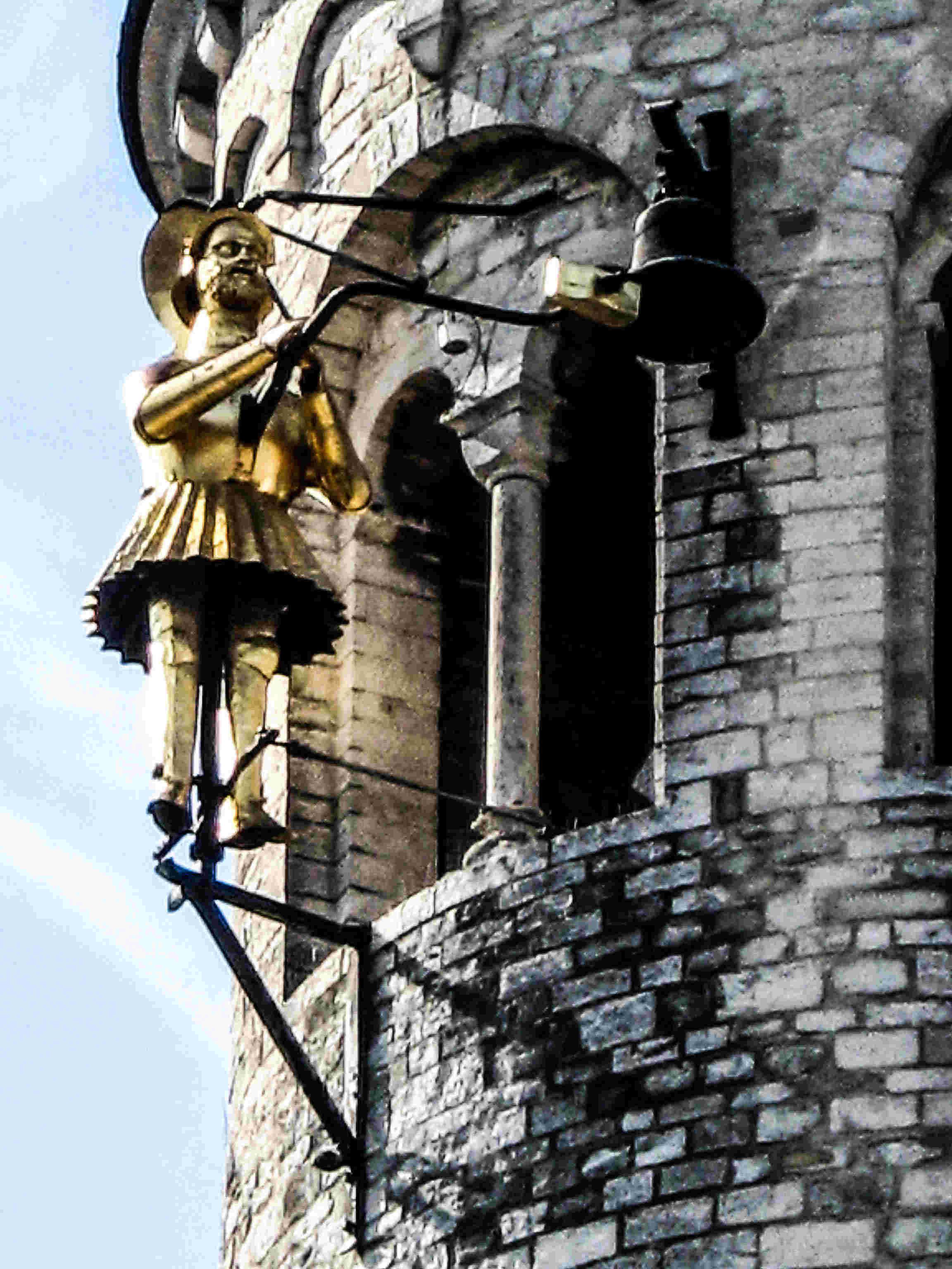 Collégiale Sainte-Gertrude de Nivelles en Belgique. Img_3610
