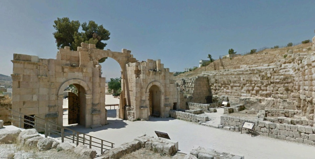 L'AGORA à Jerash (Jordanie) Monume12