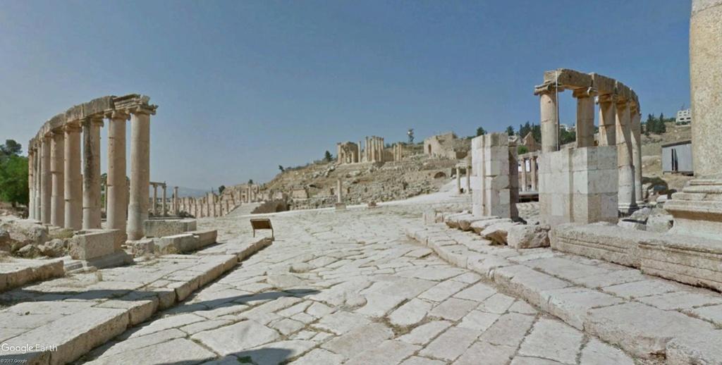 L'AGORA à Jerash (Jordanie) Monume13