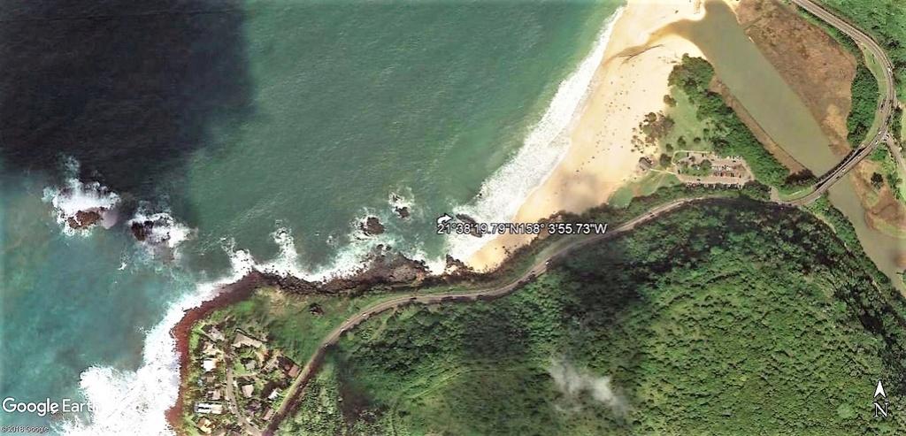 Waimea Bay Beach Park, Pupukea, Oahu, Hawaï, USA. Oahu_h10
