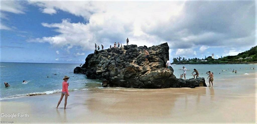 Waimea Bay Beach Park, Pupukea, Oahu, Hawaï, USA. Oahu_h11