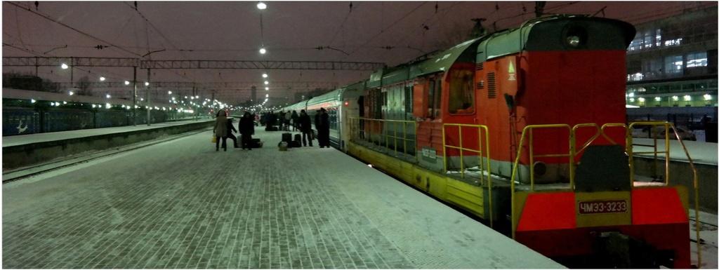 Tioumen, la première ville russe de Sibérie, bâtie en 1589 !! !! Transs10