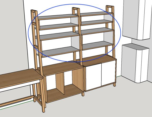 Ensemble bureau/meuble bas/bibliothèque - Page 7 00plan10