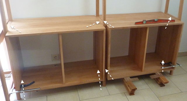 Ensemble bureau/meuble bas/bibliothèque - Page 7 03mont11