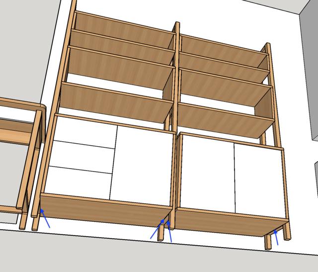 Ensemble bureau/meuble bas/bibliothèque - Page 5 Meuble10