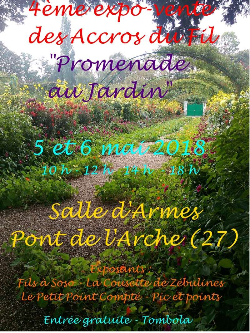 Notre expo biennale dans l'Eure ce week-end des 5 et 6 mai 20180510