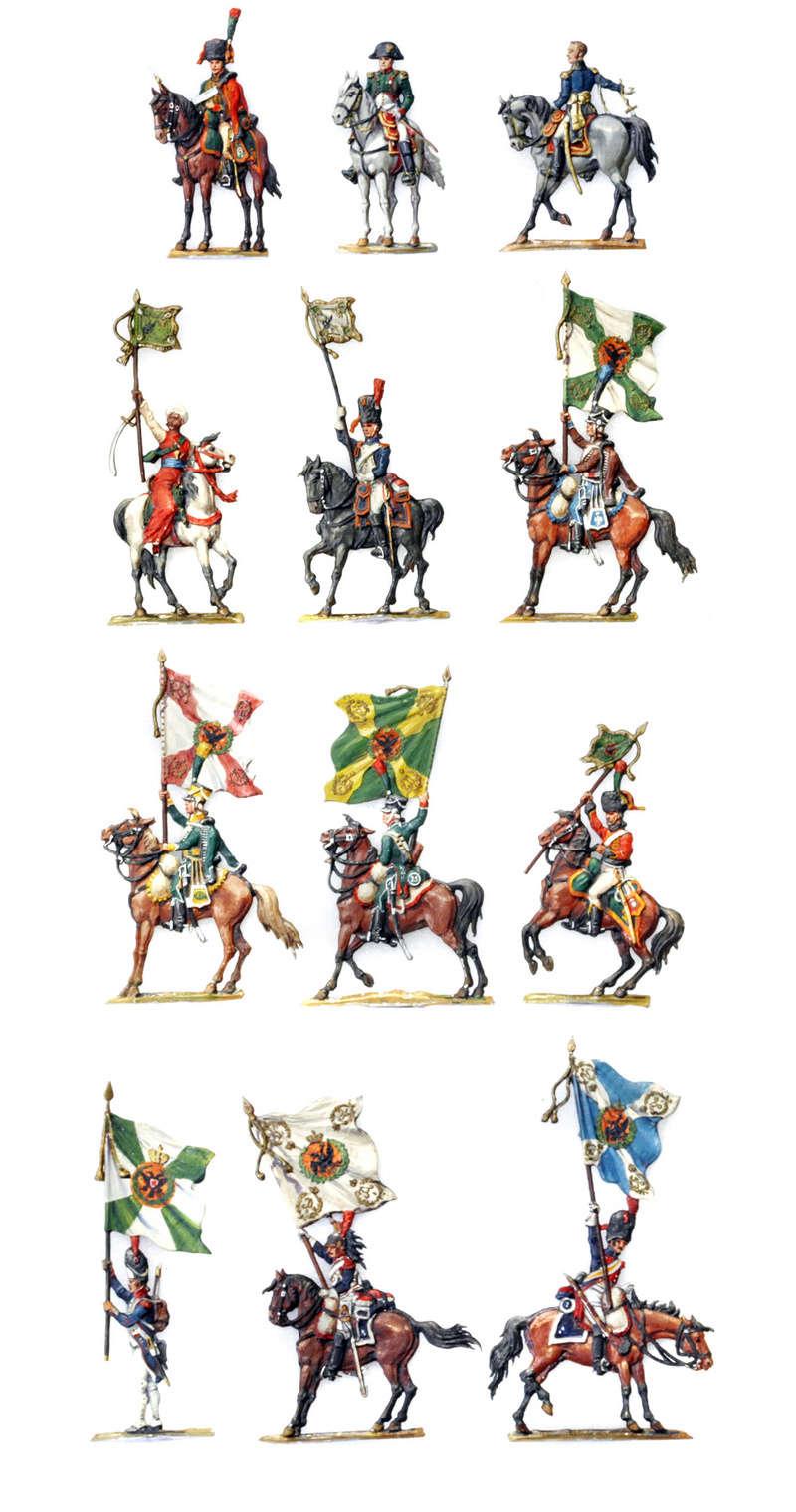 Les trophées d'Austerlitz, plats d'étain, 15e sujet, mameluck Auster10