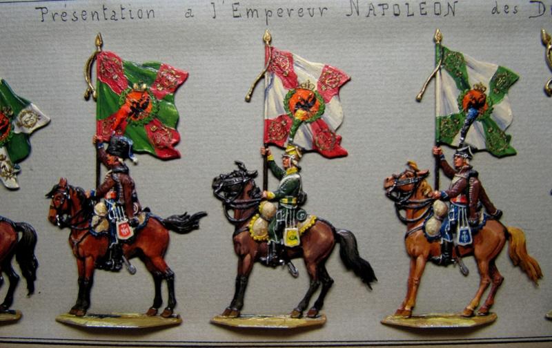 Les trophées d'Austerlitz, plats d'étain, 15e sujet, mameluck Img_0012