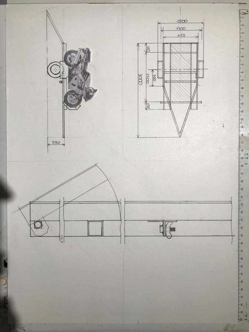 Fabrication remorque moto 54206010