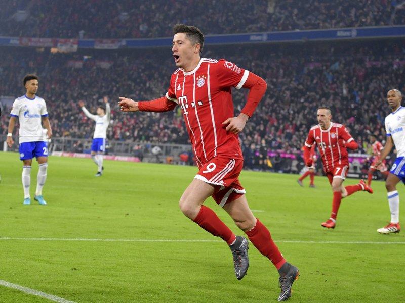 Les buteurs du Bayern  Lewand11
