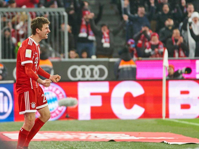 Les buteurs du Bayern  M_ller11