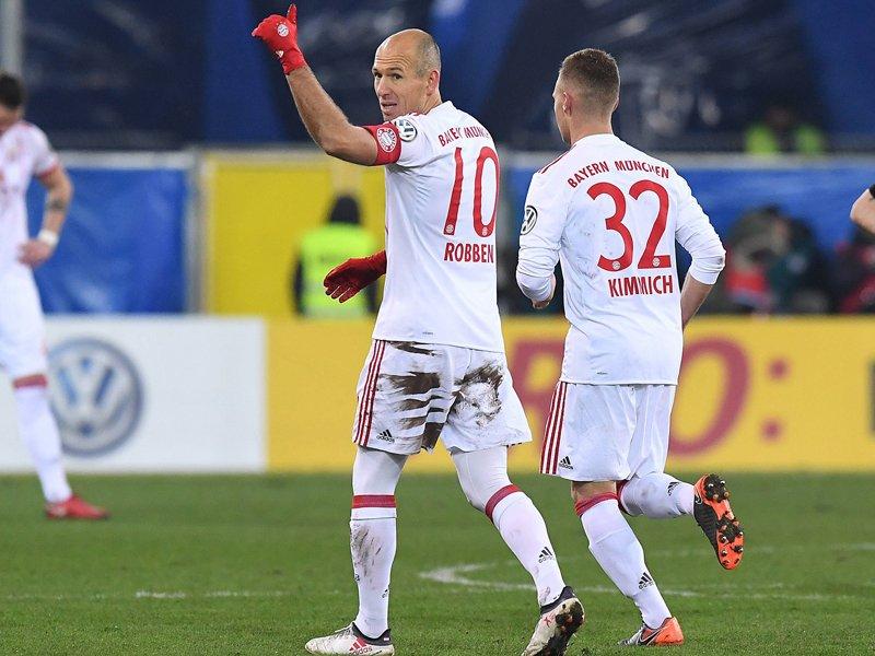 Les buteurs du Bayern  Robben11