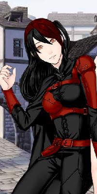 Me voici moi la rose noire 18010310