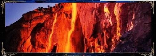 cascade de feu