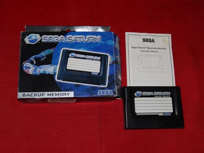 [VDS] memory card SEGA Saturn en boite Dsc09730