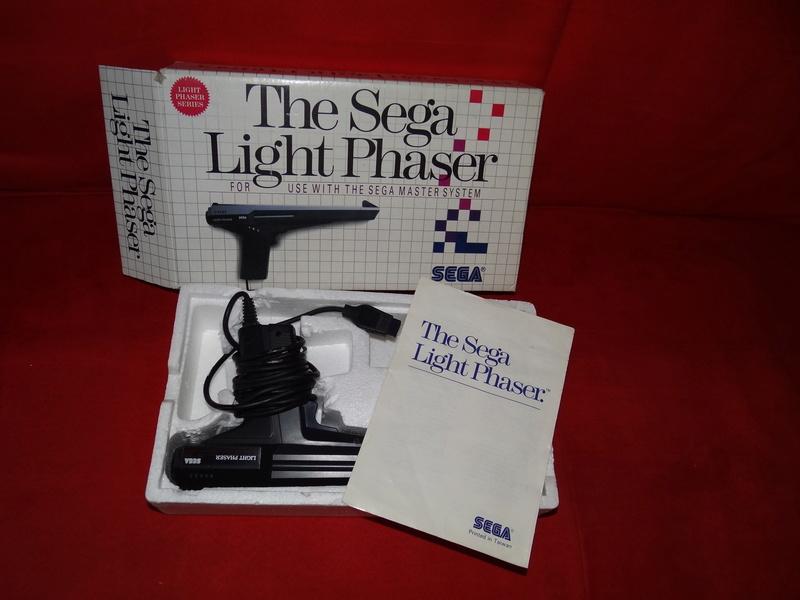 [VDS] Light Phaser 1 Master System SEGA en boite Dsc09734