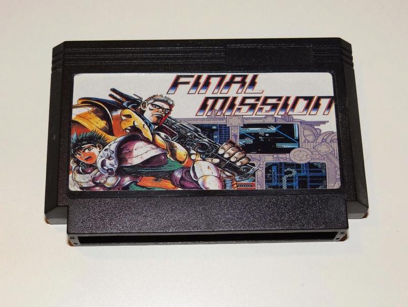(VDS) Final Mission Nintendo NES - Hong Kong Fm10