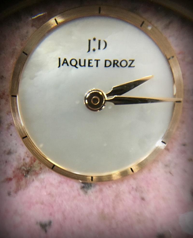Jaquet-Droz : des essais , du rêve ... et une surprise...  1710