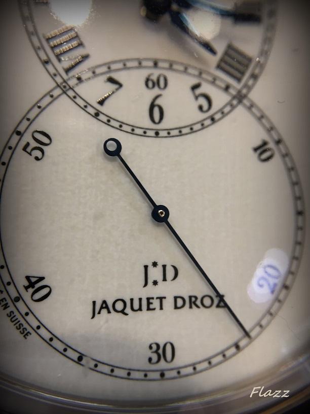 Jaquet-Droz : des essais , du rêve ... et une surprise...  317
