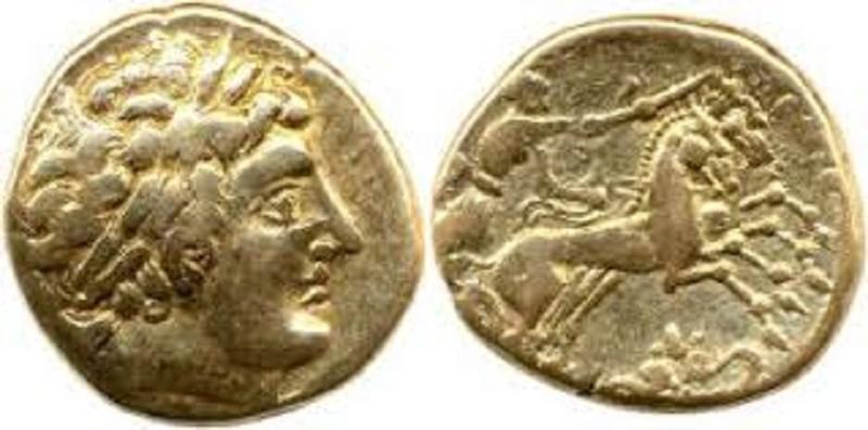 Imitation d'un statère de Philippe II de Macédoine ... Tylych11