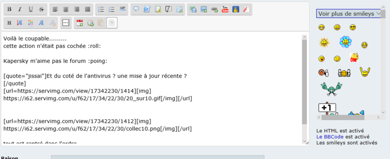 Question sur le forum.............. Toutes10