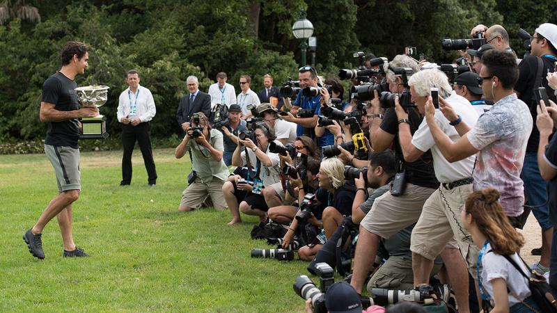 OPEN D'AUSTRALIE HOMMES 2018: photos et vidéo - Page 34 O_fede33