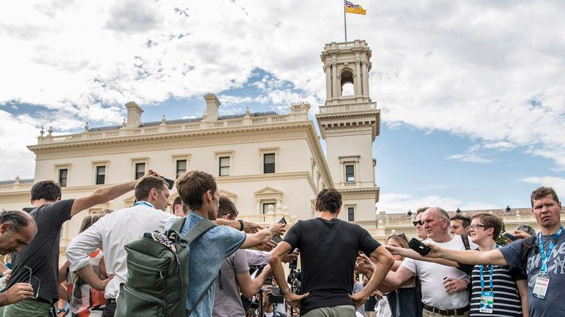 OPEN D'AUSTRALIE HOMMES 2018: photos et vidéo - Page 34 O_fede36