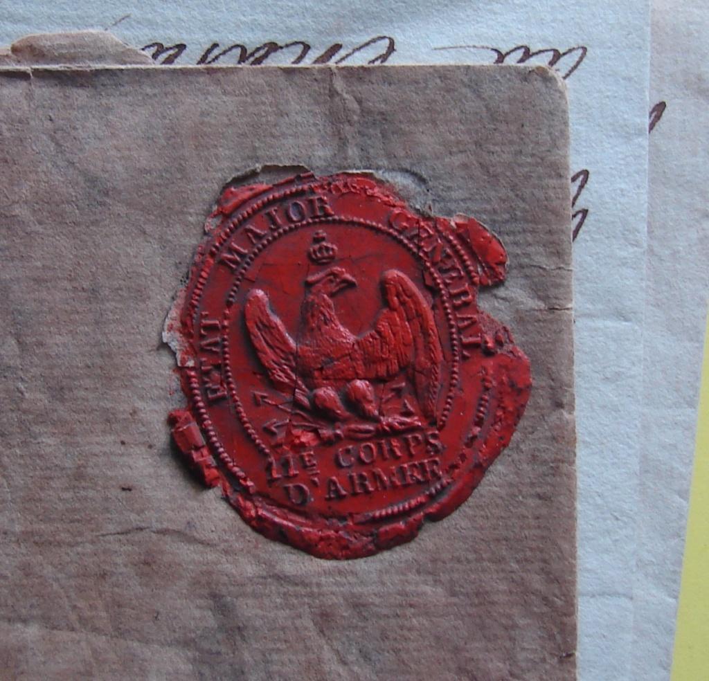 Estimation de lettres du Général Augereau, Maréchal et de son aide camp 3b10