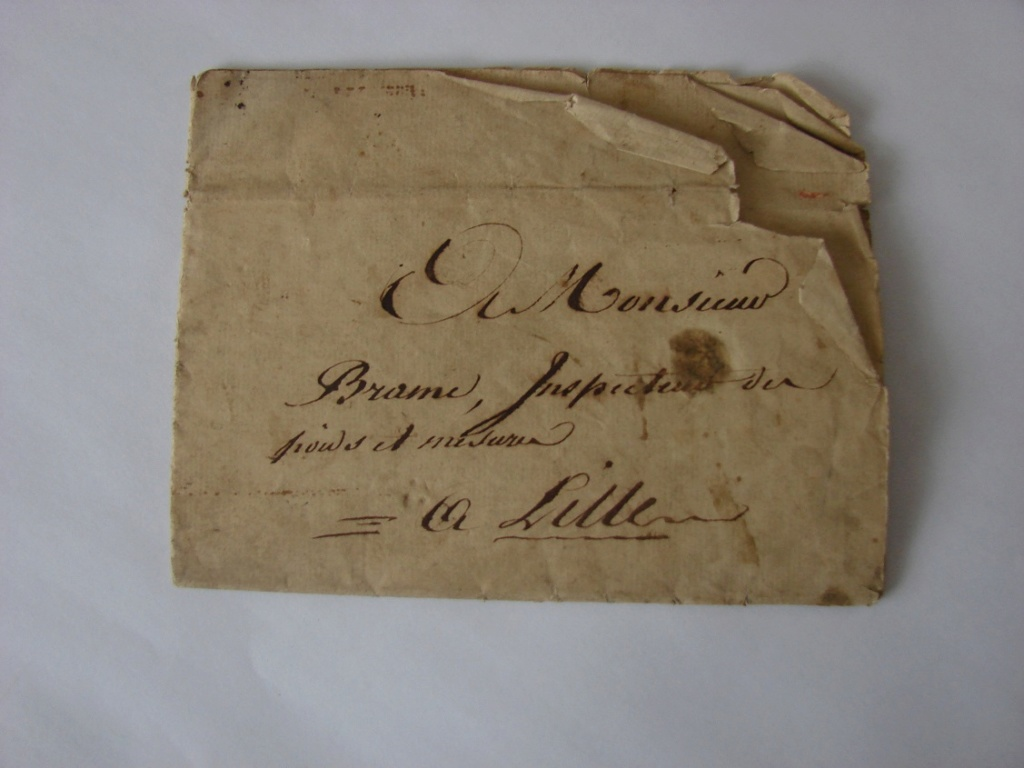 Estimation de lettres du Général Augereau, Maréchal et de son aide camp 6b10