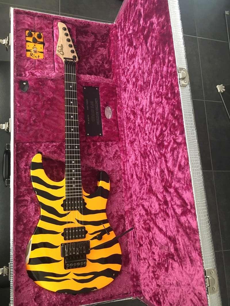 Suhr 80's Shred - Tiger Yellow B9c18e10