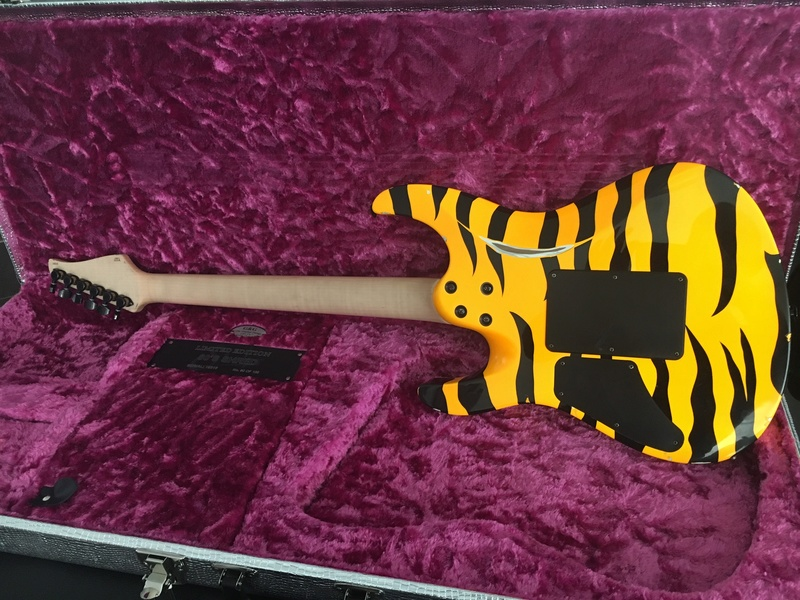 Suhr 80's Shred - Tiger Yellow C6c14f10