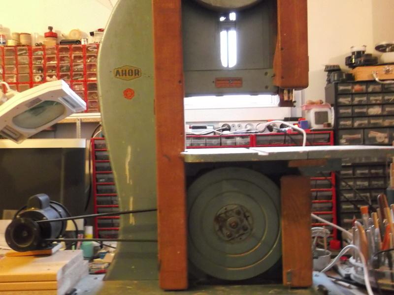 Scie à ruban Holzprofi HBS480.  Dscf2112