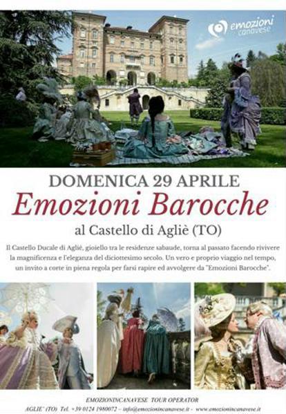 Emozioni Barocche al Castello di Agliè (TO) Locand10