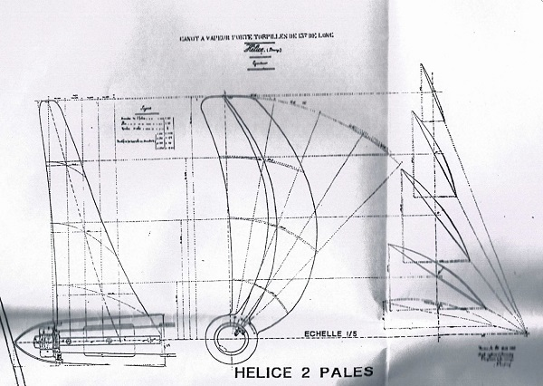 "construction ""turnabout"" bateau de 1888. - Page 2 Helice11"
