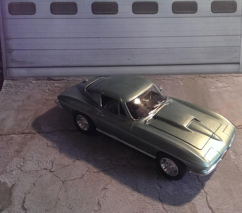 '67 Corvette Coupé von Revell 1:25 Imag3424