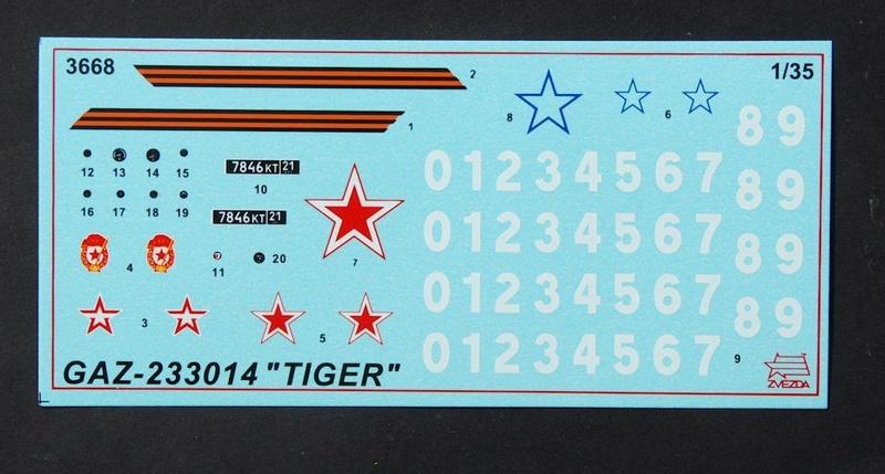 "GAZ-233014 ""Tiger"" Zwezda 1/35 dio 68765711"