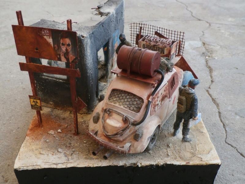 Quelque part en 2095! VW Coccinelle  1/32 Revell dio  FINI - Page 3 P4070018