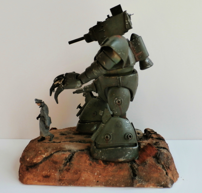 1947 - Soldat Gogg et l'officier (Bandai 1/144 et Stalingrad 1/35) FINI - Page 2 P5180013