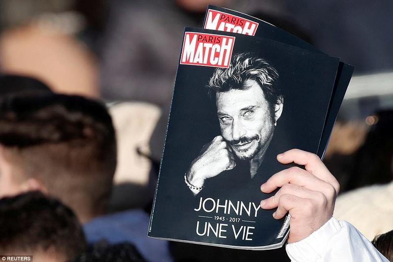 """""""French Elvis""""  DECES DE  JOHNNY HALLYDAY  47246910"""