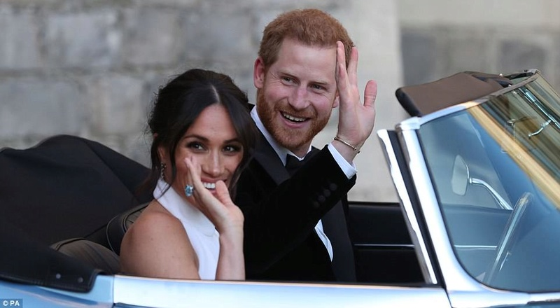 PRINCE HARRY ET MEGHAN MARKLE 4c710010
