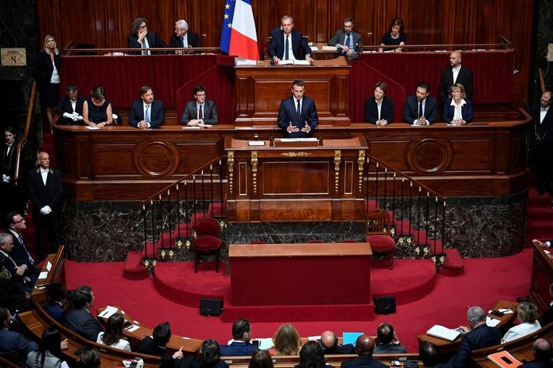 EMMANUEL MACRON PRESIDENT DE LA REPUBLIQUE FRANCAISE 77892010